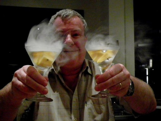 Chef Shane Brierly serves up his smokin' LN2 cocktails