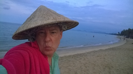 """Good Morning cat's bum from Long Beach, Phu Quoc. MWAH!"""